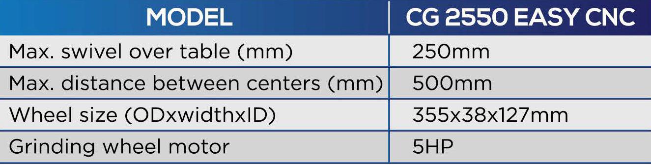 jagura easy cnc specification