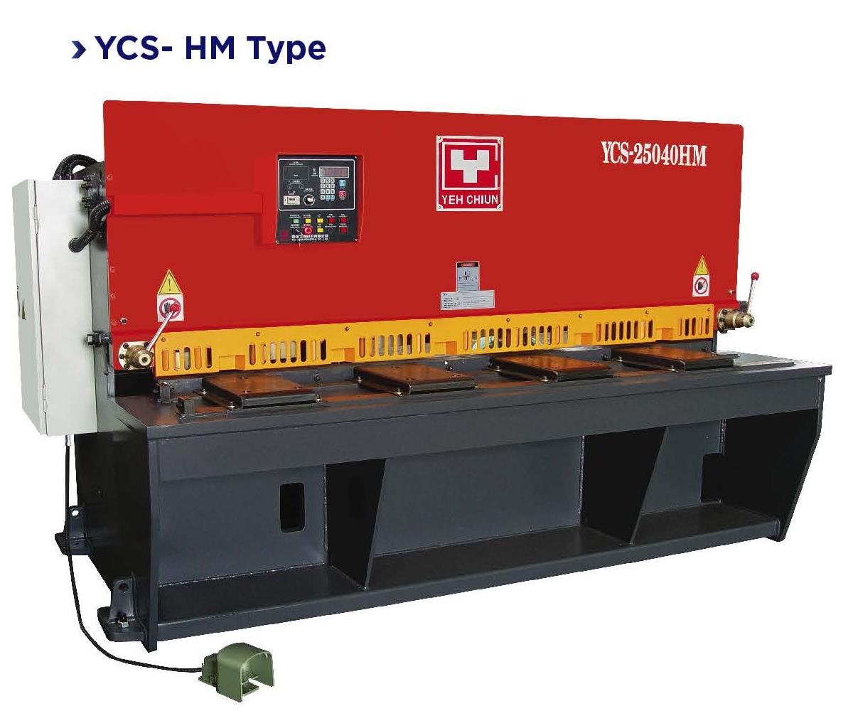 yeh chiun hydraulic shear